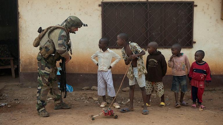 Hoppet om fred stärks i Centralafrikanska republiken