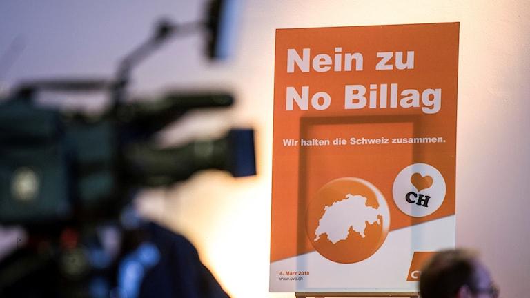 Schweiz folkomröstning