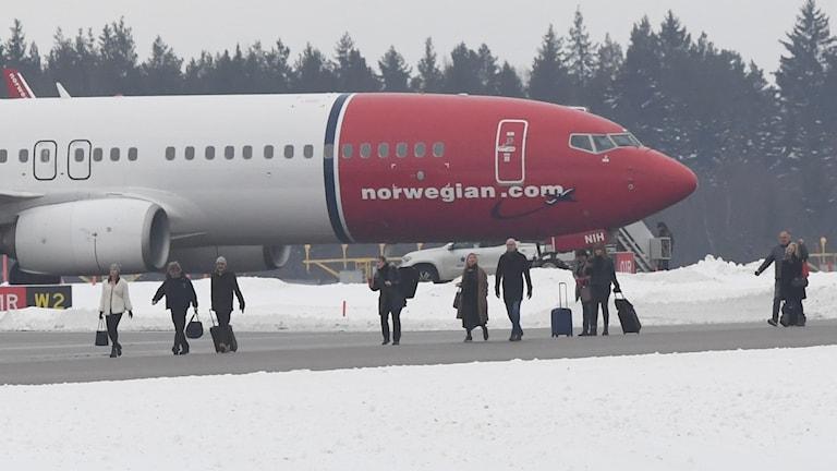 Bombhot mot norwegianplan