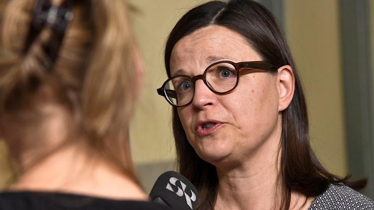 Gymnasie- och kunskapslyftsminister Anna Ekström