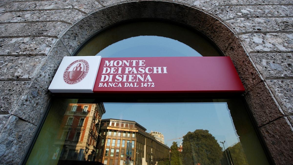 Monte dei Paschi Italien bank