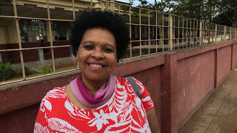 Isabella Abdul, en kvinna i Maputo.