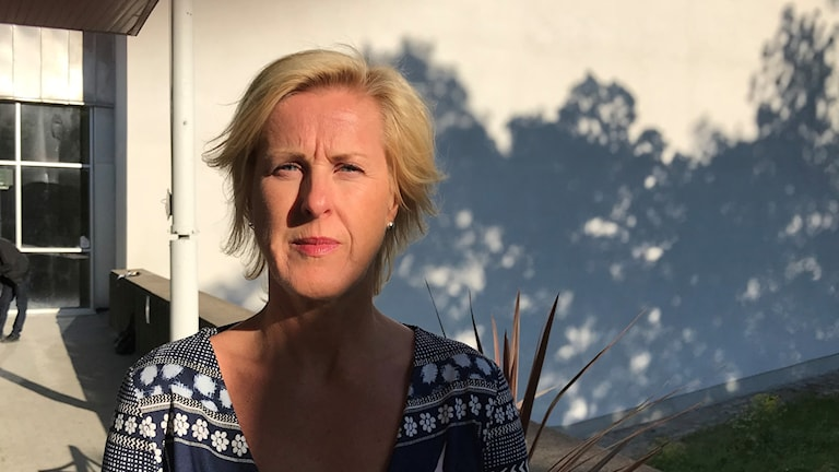 Åsa Fahlén, ordförande i Lärarnas Riksförbund