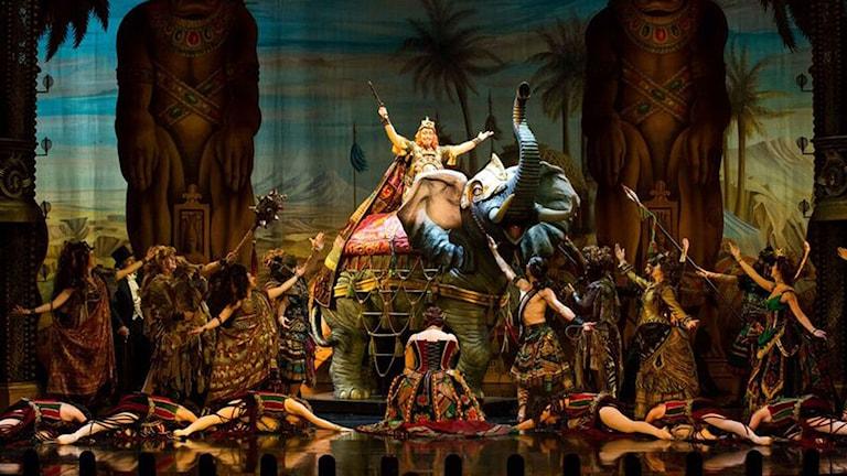 Phantom of the opera på cirkus i Stockholm. Foto: SWEDISH PRESS IMAGES