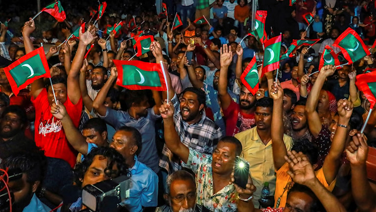 Maldiverna demonstration