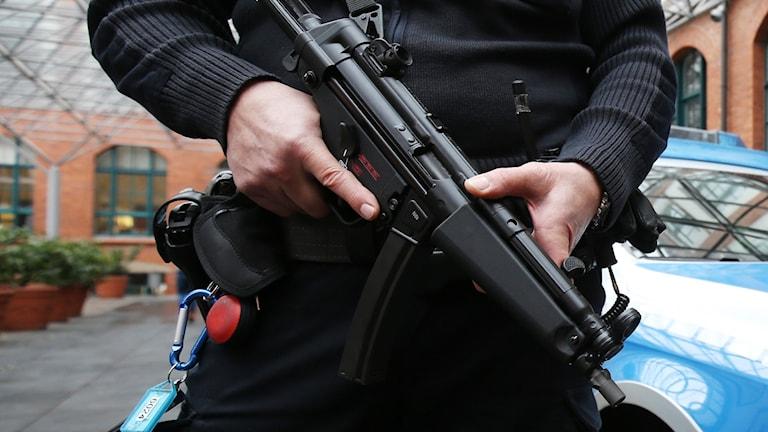 vensk man gripen misstänkt för terrorism i Nederländerna