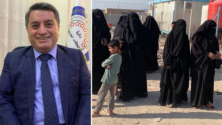 Kurdiska självstyrets utrikespolitiska talesperson, Abdel Karim Omar.