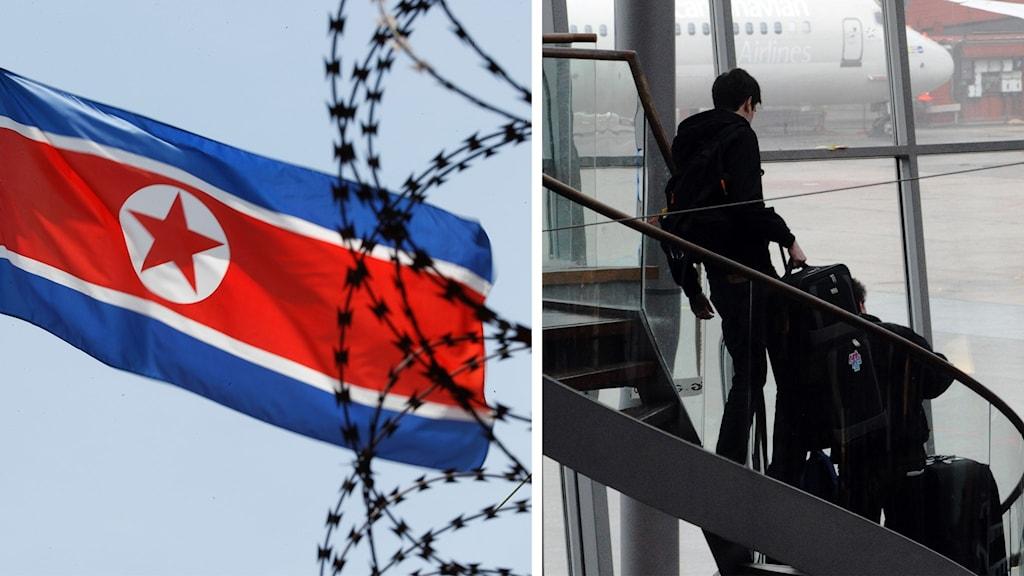 Svenska diplomater har lämnat landet efter svårigheter