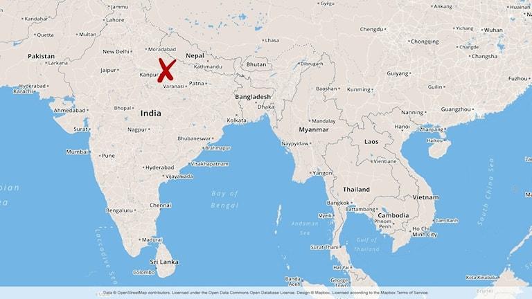 Karta Indien Thailand.Manga Doda I Explosion Pa Kraftverk I Indien Indien Utrikes