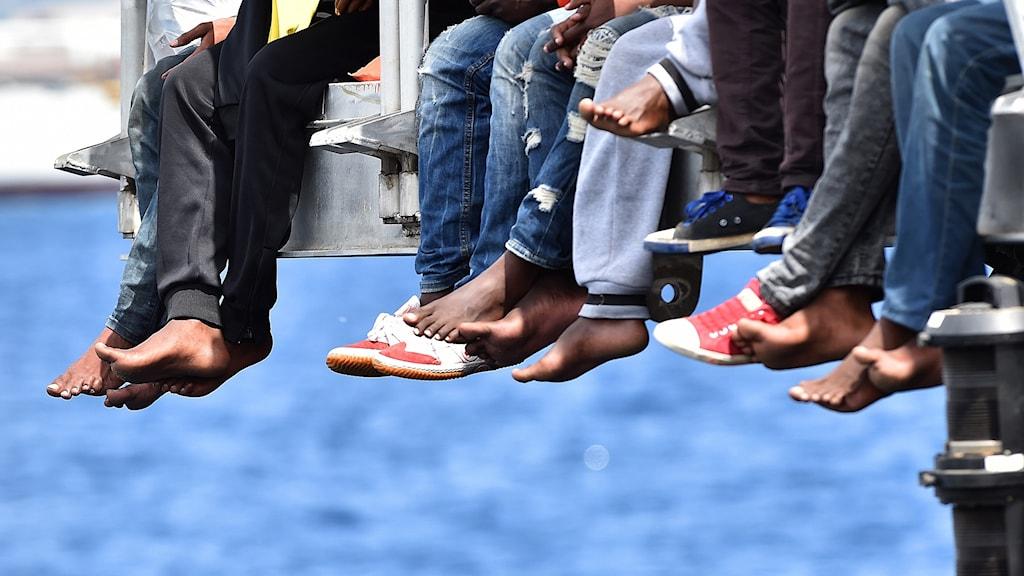 Unga migranter i Italien