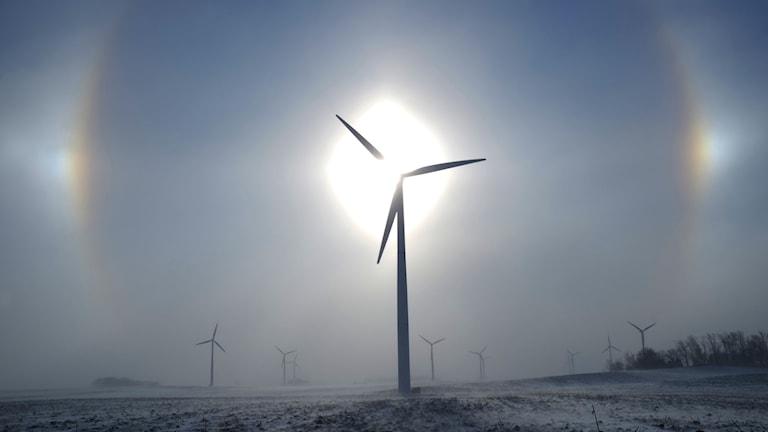Vindkraftverk, arkivbild från 2015.