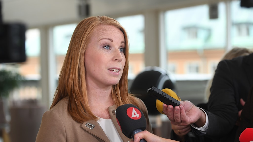 Centerpartiets Annie Lööf.