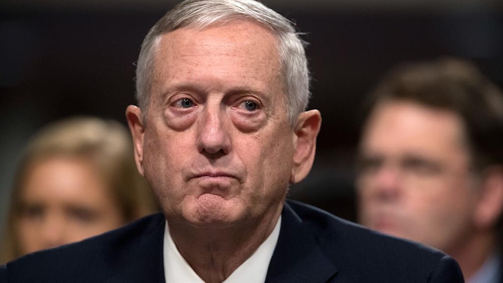 Donald Trumps tilltänkta försvarsminister James Mattis.