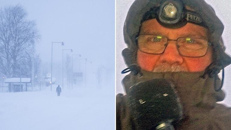 Marcus Frånberg Storm snö