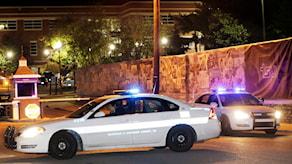 Polis i Nashville, USA. Bilden är från ett annat tillfälle.