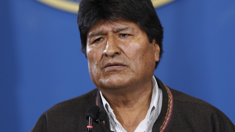 Bolivias president Evo Morales.
