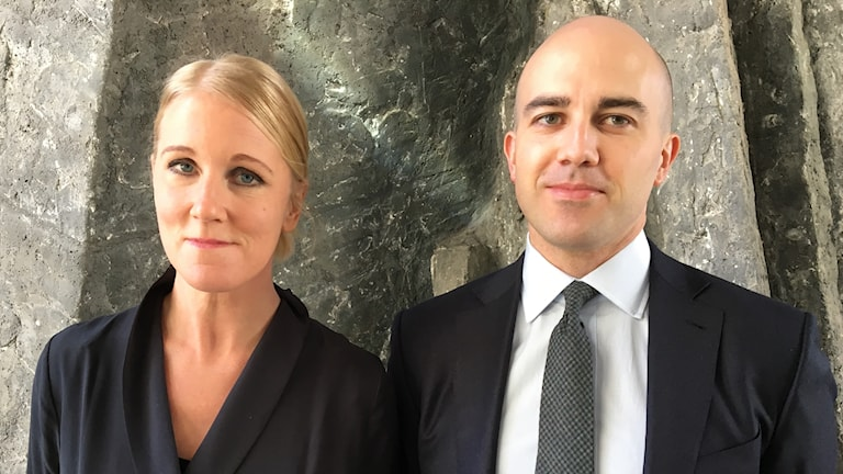 Anna Stellinger och Erik Lagerlöf