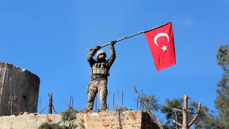 Turkiet, Syrien, kurder, Afrin