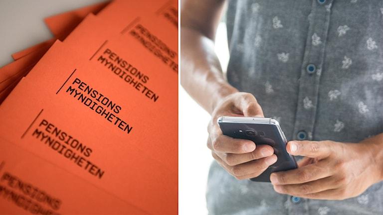 Pensionsmyndigheten vill få bort det orange kuvertet.