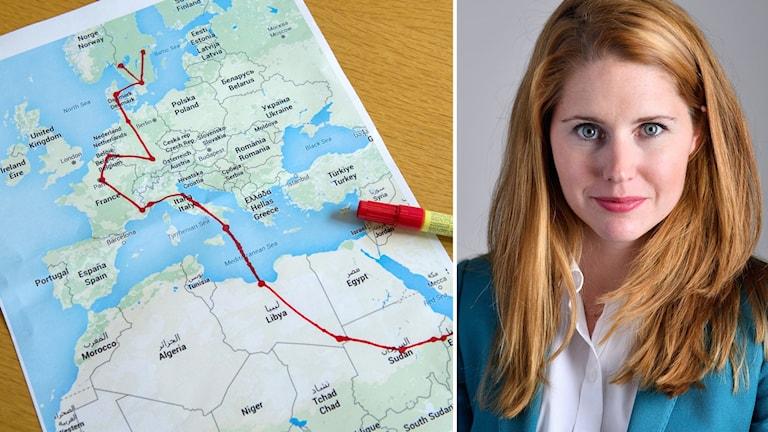 Moderaternas kvinnoförbund vill nu få partiet med sig på att Sverige ska ställa krav på vilka kvotflyktingar som ska tas emot.