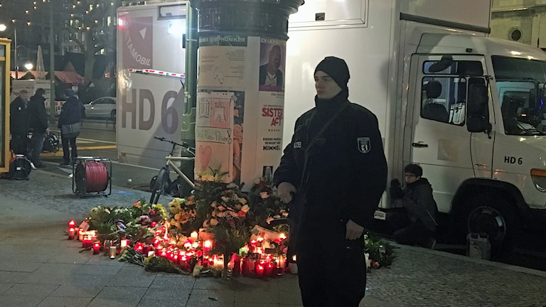 Poliser i centrala Berlin