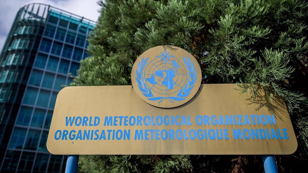 Byggnaden i Genève där FN:s klimatpanel IPCC håller möte.