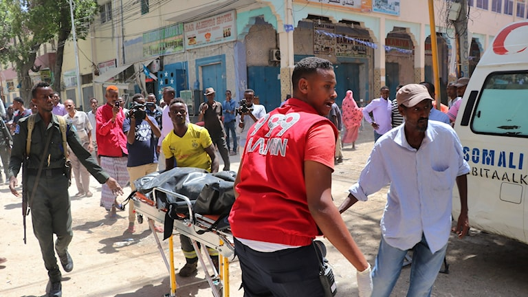 Explosion i Somalia.