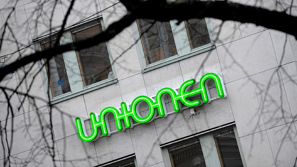 Unionens huvudkontor i Stockholm. Foto: Janerik Henriksson/Scanpix.