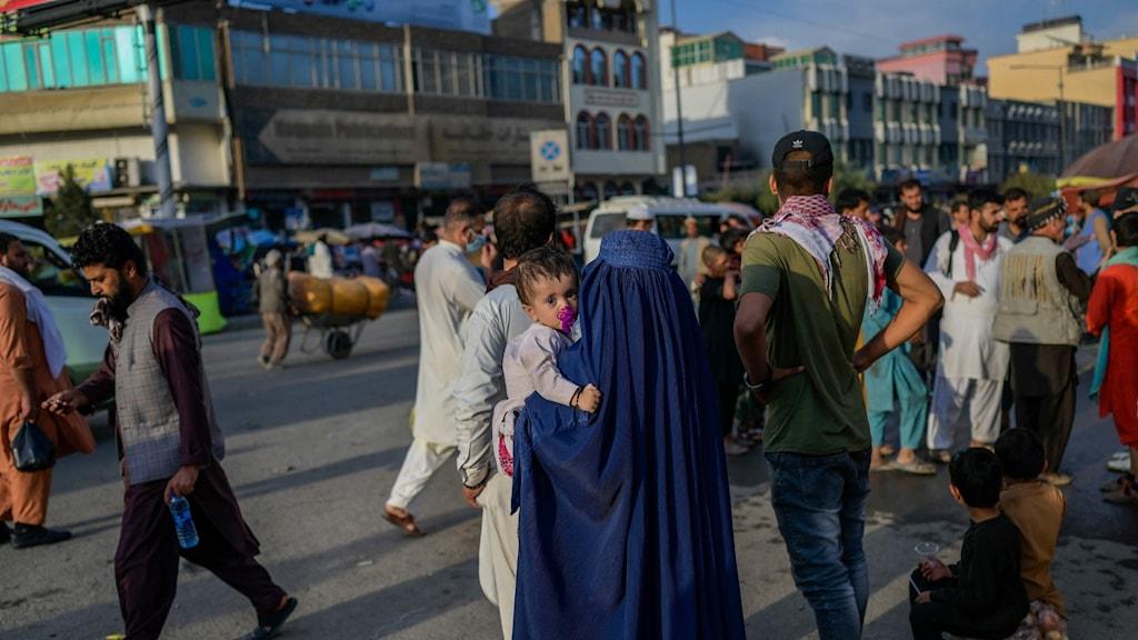 Gatuliv i Kabul, Afghanistan