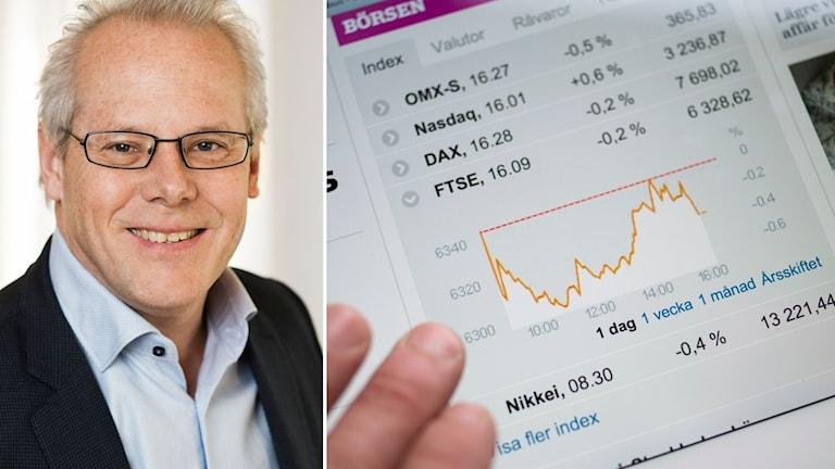 Teknikföretagens chefsekonom Mats Kinnwall