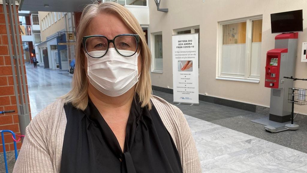 Katarina Johansson, sjukvårdsledare i region Norrbotten.
