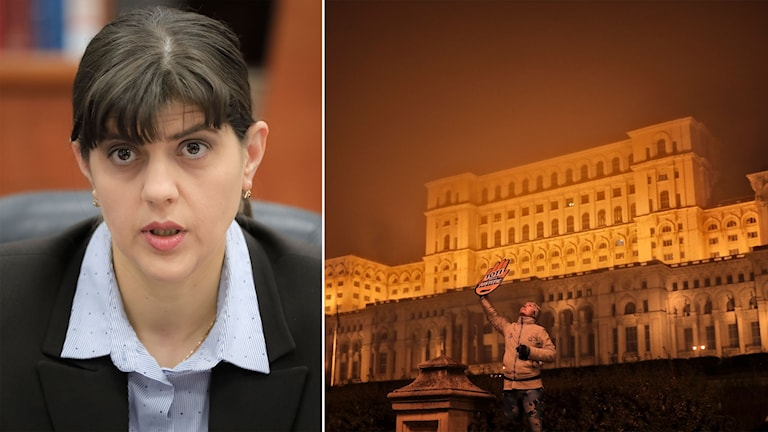 rumäniens parlament och Laura Codruta Kövesi
