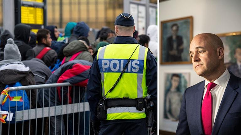 Foto: Johan Nilsson/Daniella Bocklund/TT. Montage: Sveriges Radio.