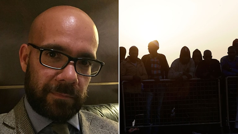 Advokaten Massimo Ferrante har blivit alltmer engagerad i mänskliga rättigheter