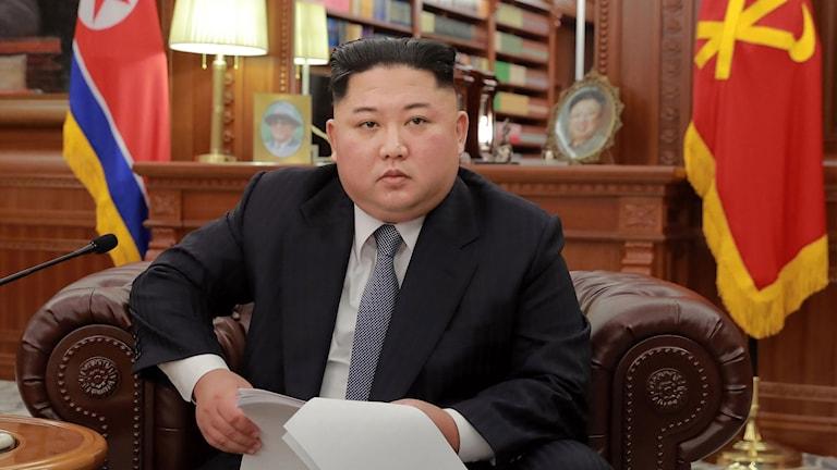 Kim Jong-uns nyårstal.