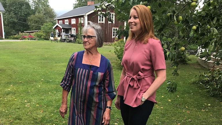 Solveig Fälldin och Annie Lööf