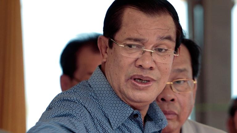 Kambodjas premiärminister Hun Sen