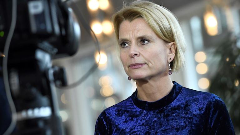 Barn-, äldre- och jämställdhetsminister Åsa Regnér (S).