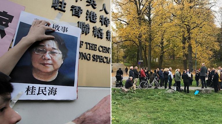 Gui Minhai, manifestation