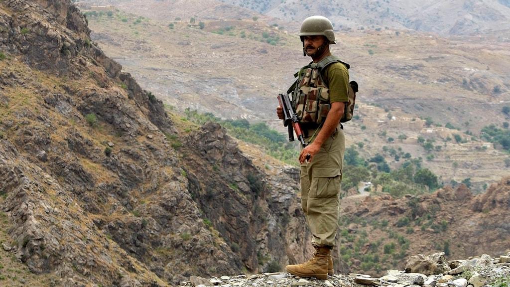 Soldat Afghanistan.
