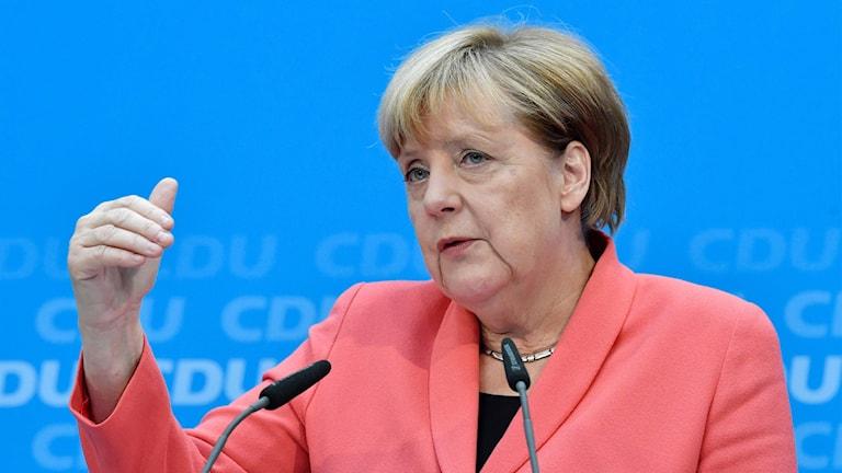 Tysklands förbundskansler Angela Merkel.