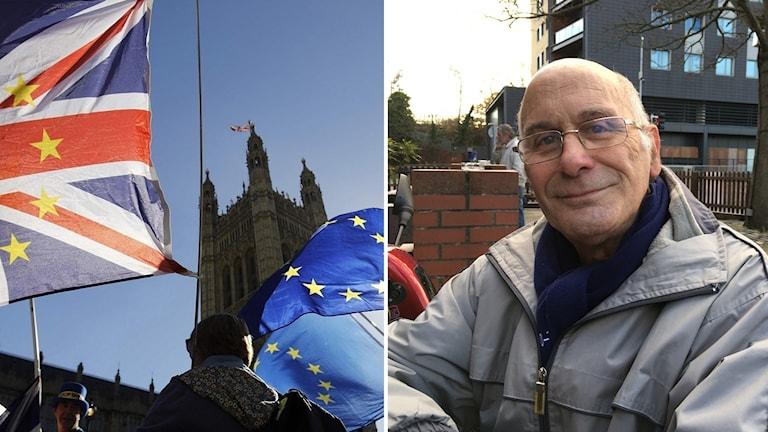 Cliff Evans i Basildon är orolig för att Storbritannien ska fortsätta att bli knutet till EU långt efter utträdet.