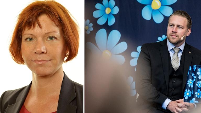 Margareta Larsson och Mattias Karlsson