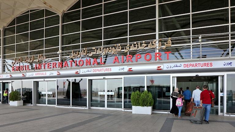 Internationella flygplatsen i Erbil