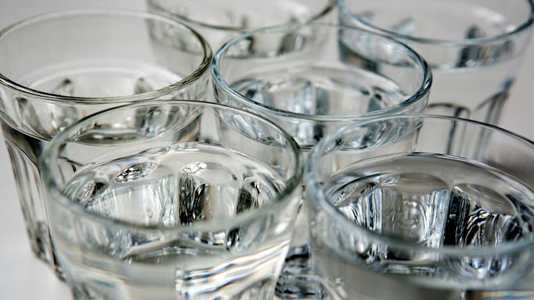 Vattenglas