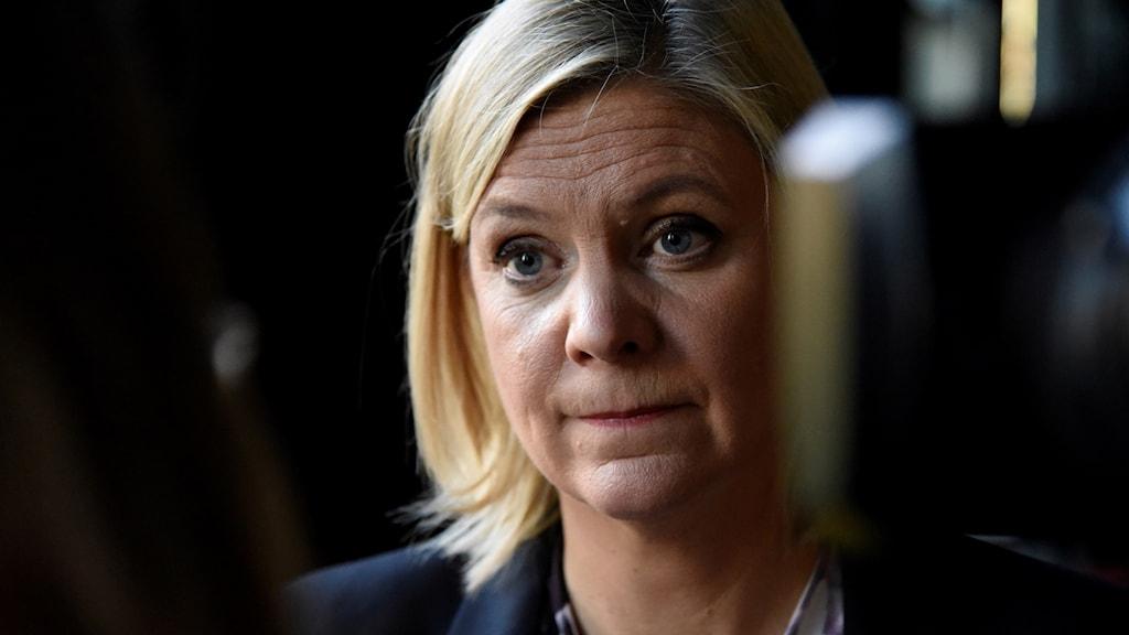 Finansminister Magdalena Andersson.