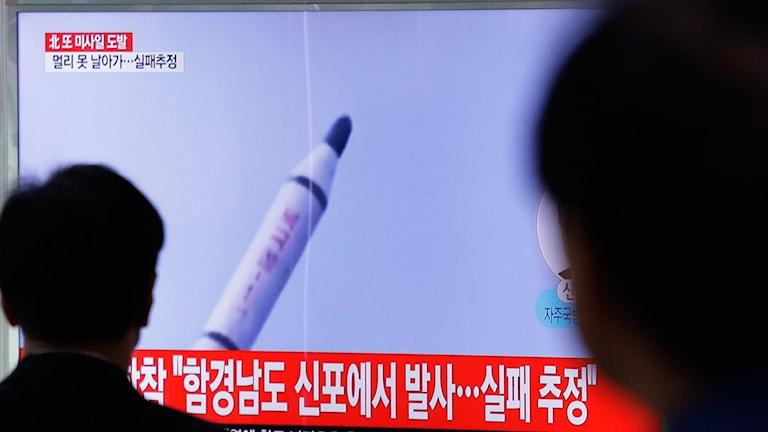 Rakettestet oroar