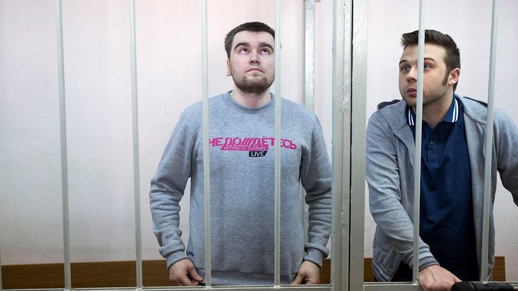 Alexej Gaskarov, som fick fängelse efter att han deltog i protesterna på Bolotnaja-torget i Moskva.