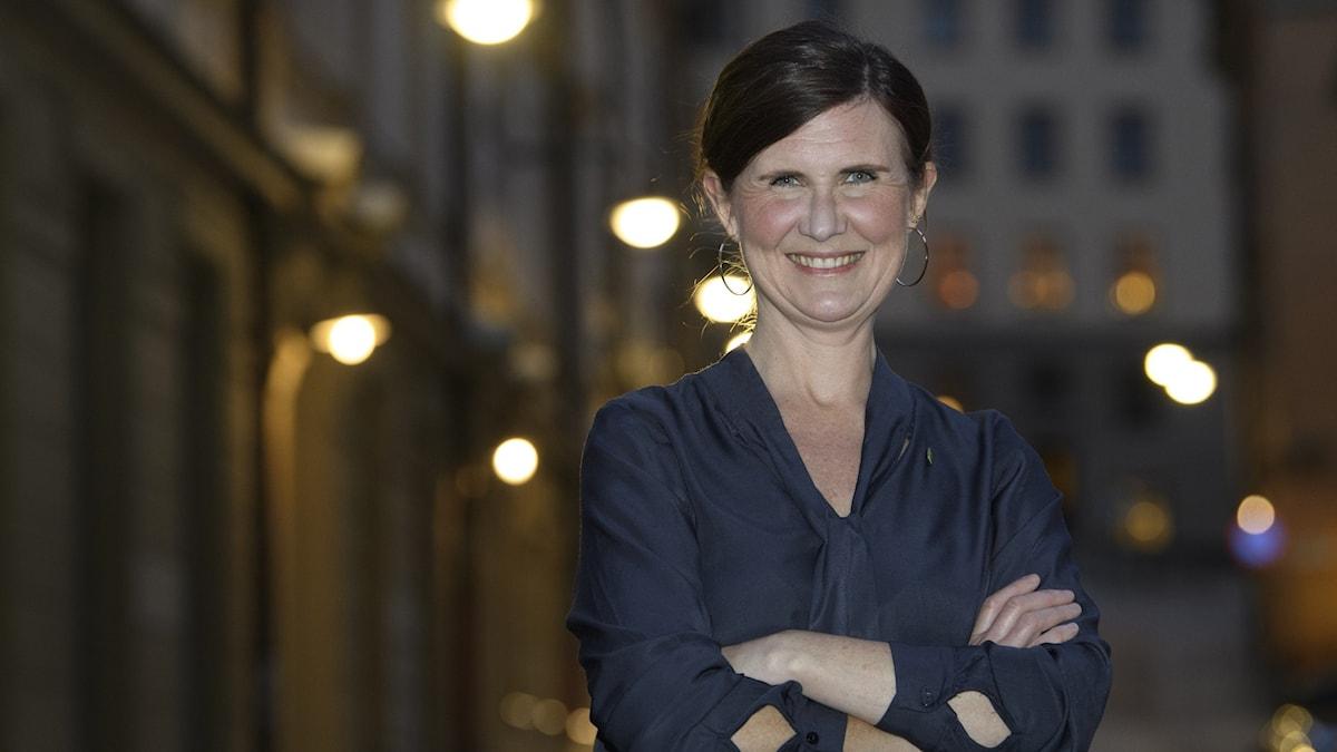 Märta Stenevi som föreslås bli nytt språkrör för Miljöpartiet.
