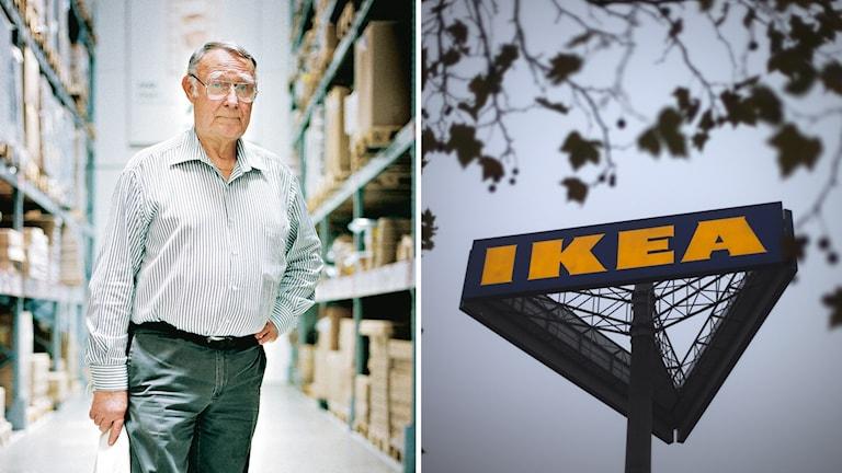 Ikeas grundare Ingvar Kamprad.